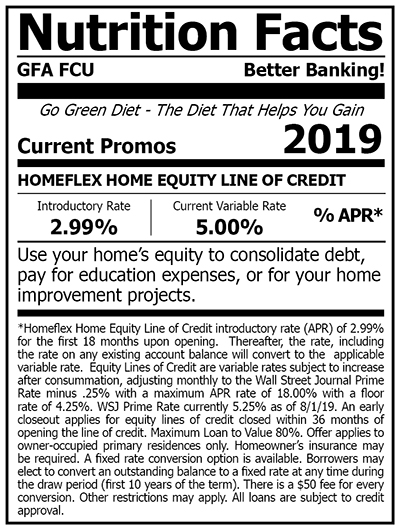 Fix in a portion of your Home Equity Line of Credit